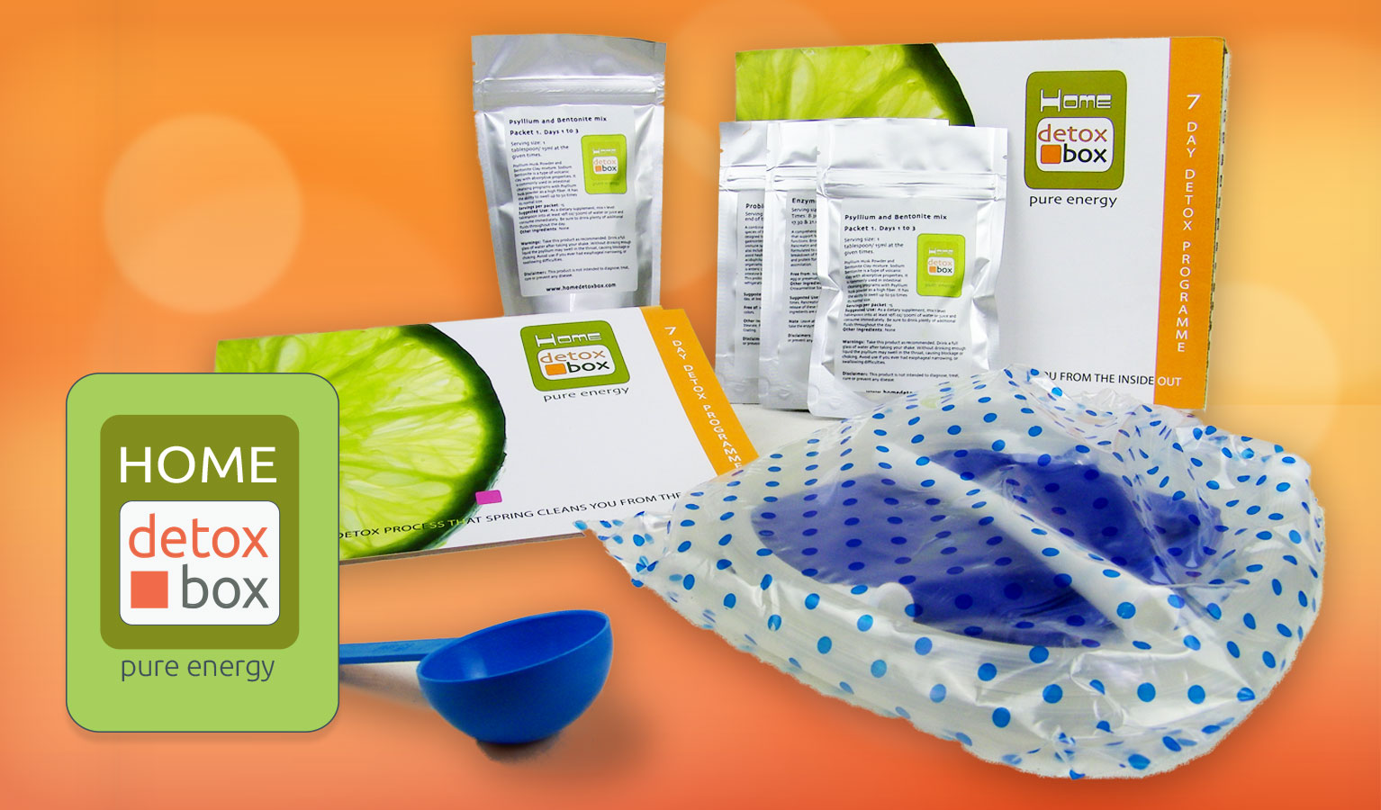 Home Detox Box Info included items