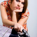 Detox-to-BOOST-your-immune-system-tired-woman-ironing