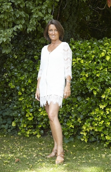 Fiona-Robertson-Body-Renewer-Full-Length-in white-summer-dress