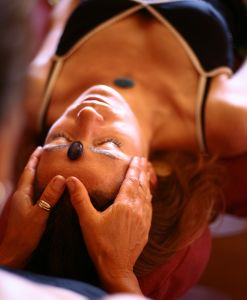 Meditation-energy-healing-girl receiving-reiki