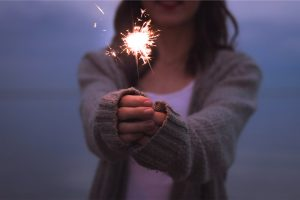 Hope-for-your-misbehaving-body-woman-sparkler